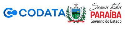 Logos da Codata e Paraíba